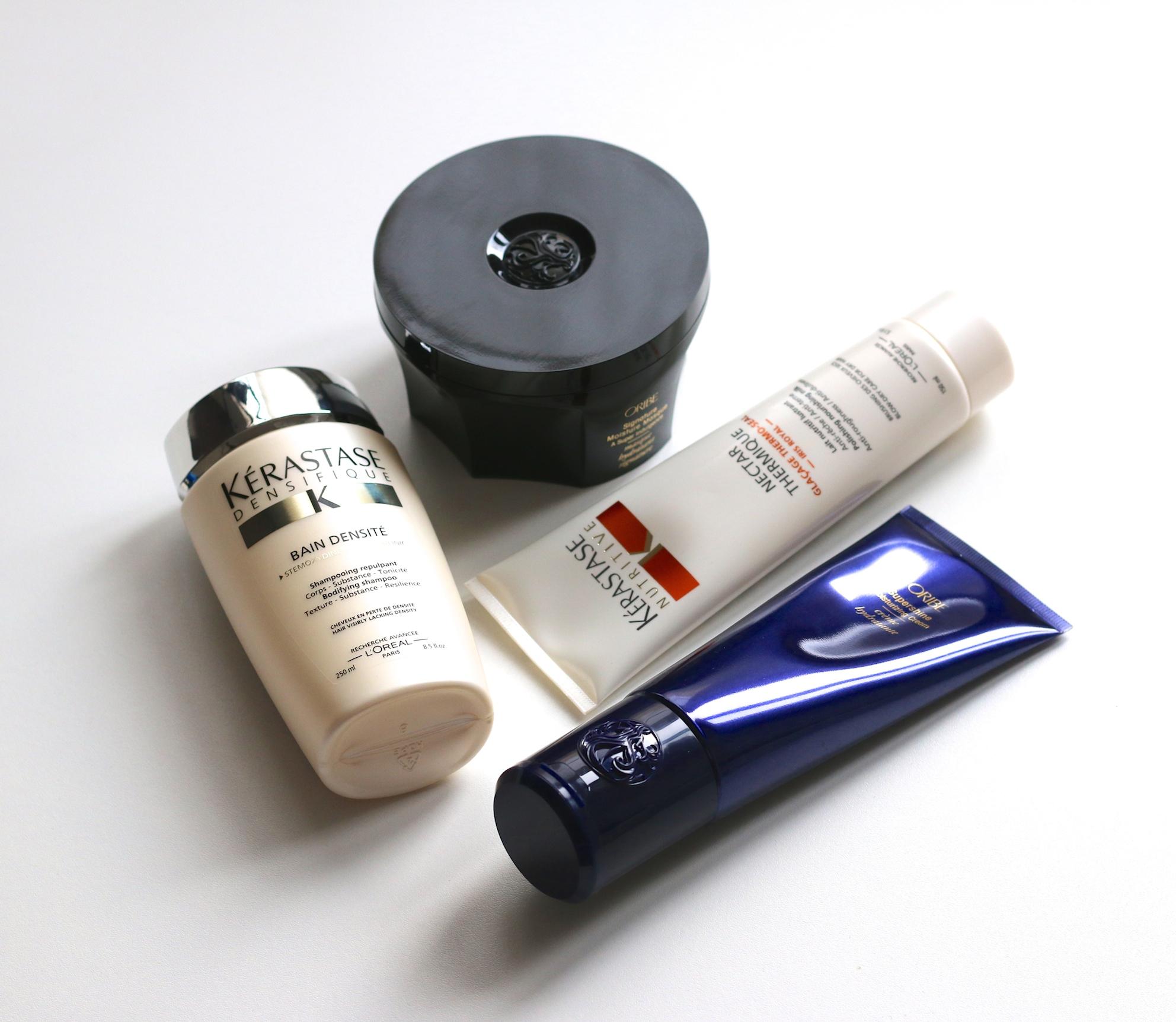 New Hair Care Routine Oribe Kerastase The Brush Stash